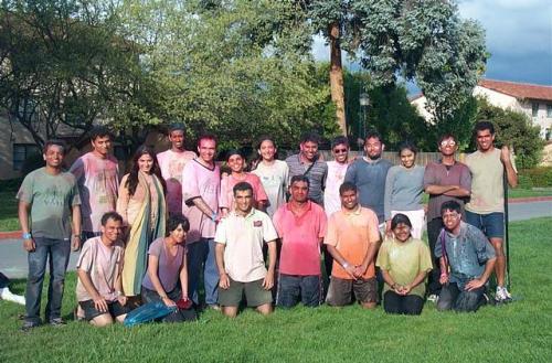 Asha volunteers
